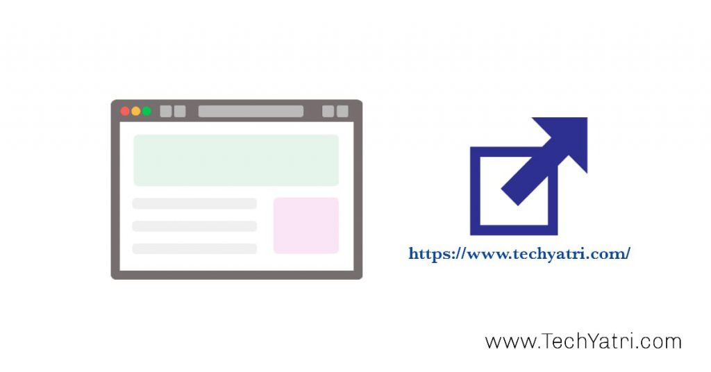 how to open link in new tab in hindi