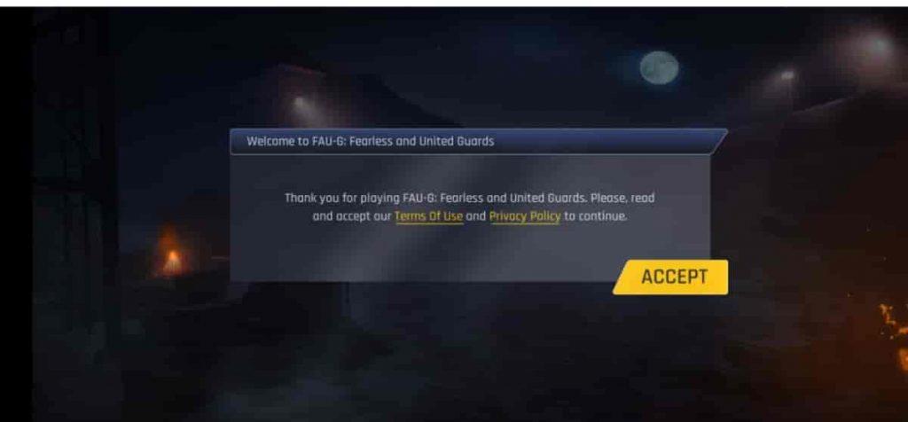 allow faug game permissons