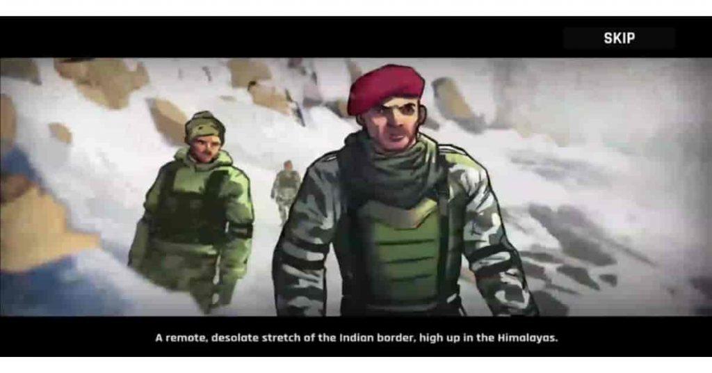 faug game story in hindi