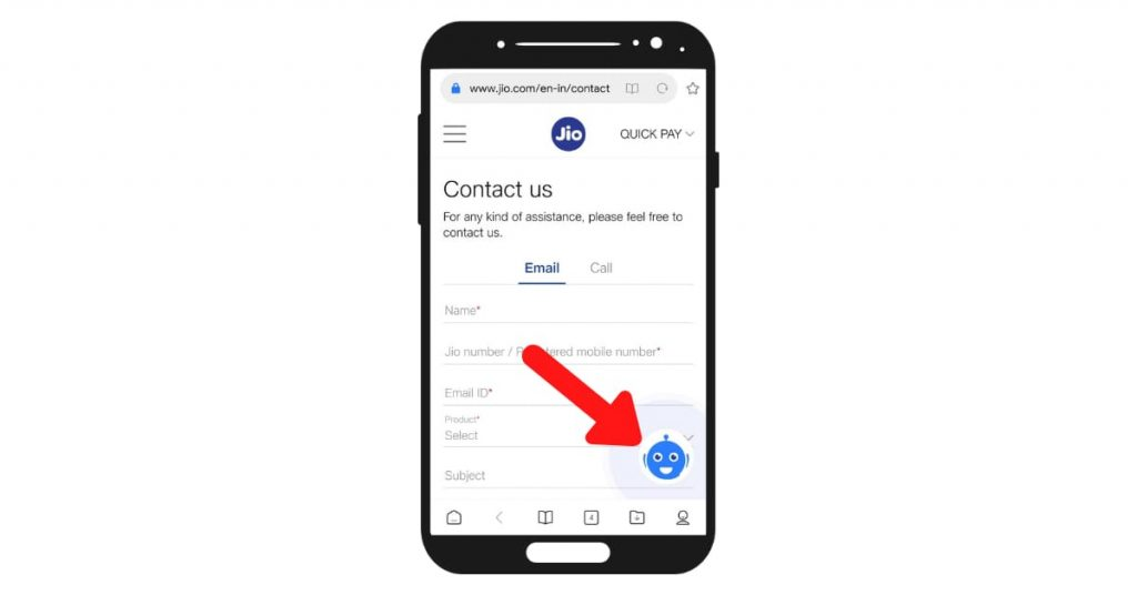 jio customer care live chat bot.png