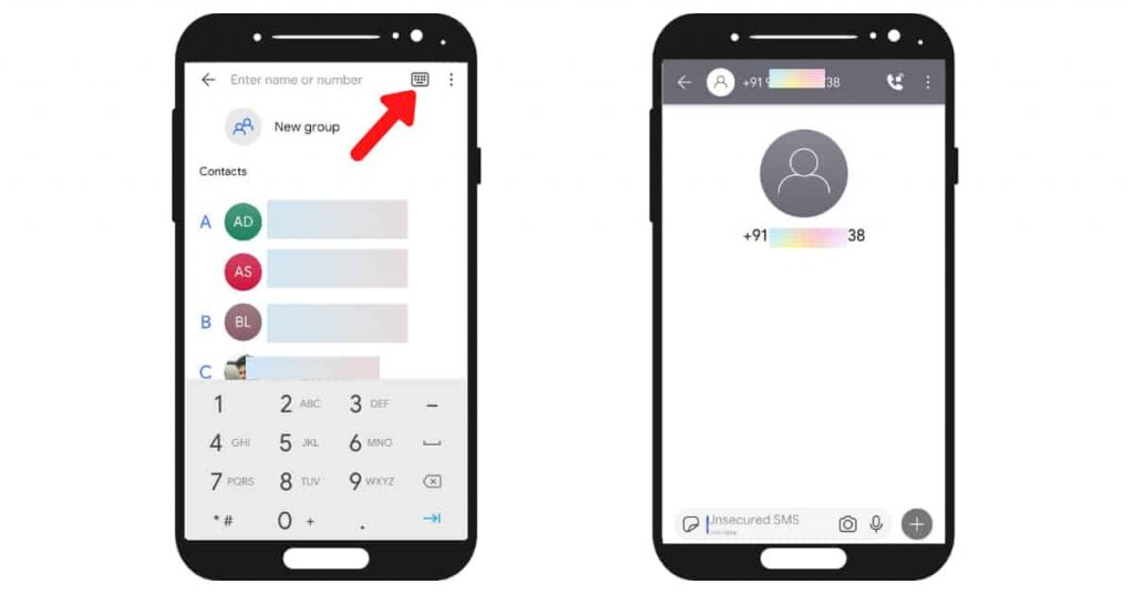 unsecured message signal app