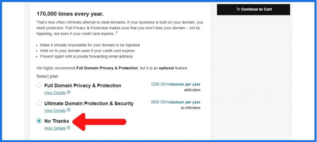 godaddy domain security