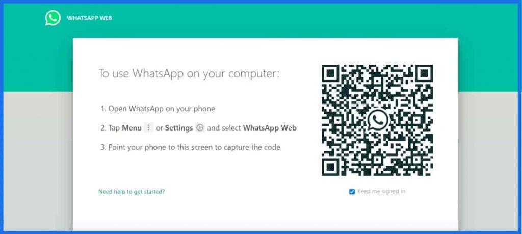 whatsapp web website